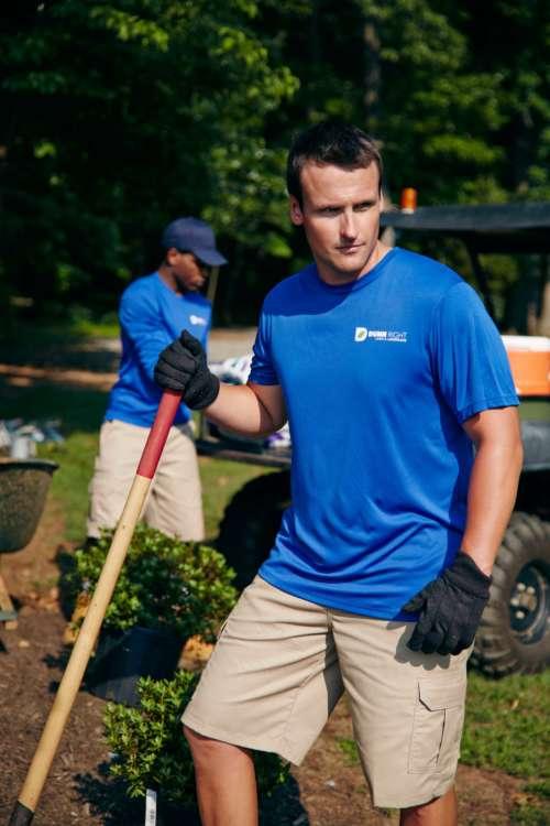 4280 CoolDri Landscaping Vertical San Antonio Custom Shirt